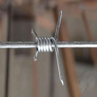 Single Twist Barbed Wire