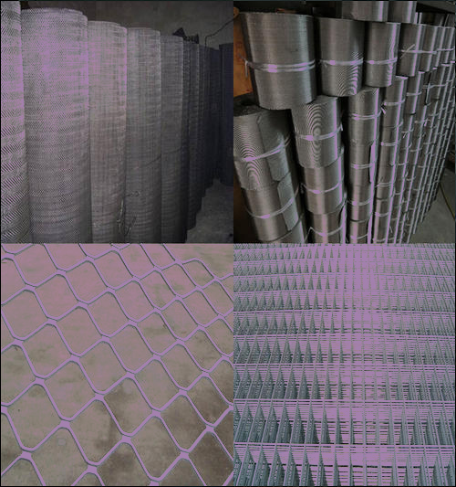 China Galvanized Steel Welded Razor Mesh