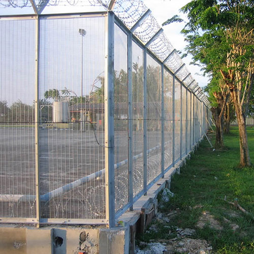 Concertina Fence